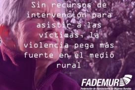 Violencia de género en el medio rural